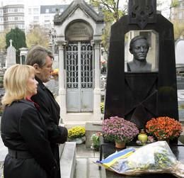 Victor Yushchenko visits Montparnasse